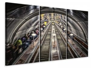 Ljuddämpande tavla - In the metro - SilentSwede