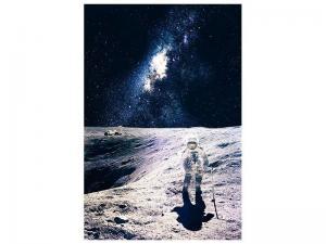 Ljudabsorberande tavla - A Walk In Space - SilentSwede