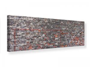 Ljudabsorberande panorama tavla - Old Bricks - SilentSwede
