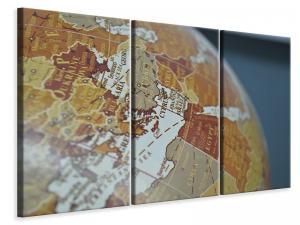 Ljuddämpande tavla - Close up globe - SilentSwede