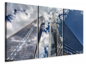 Ljuddämpande tavla - 2 skyscrapers - SilentSwede