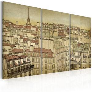 Ljuddämpande tavla - Paris - the city of harmony - SilentSwede