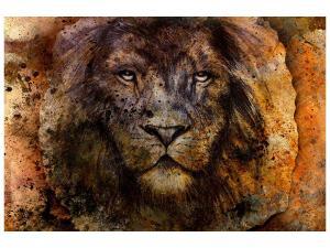 Ljudabsorberande tavla - Portrait Of A Lion - SilentSwede