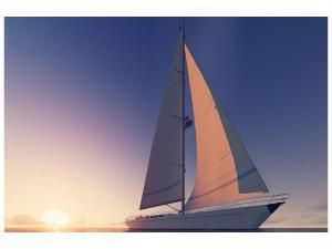 Ljudabsorberande tavla - The Sailboat - SilentSwede