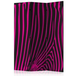 Rumsavdelare - Zebra pattern (violet) - SilentSwede