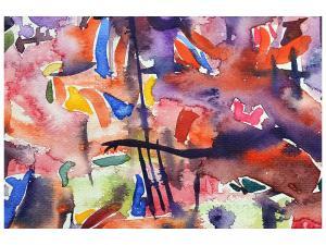 Ljudabsorberande tavla - Watercolor - SilentSwede