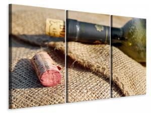 Ljuddämpande tavla - Corks of red wine - SilentSwede