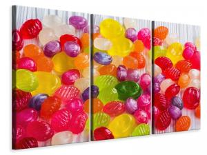 Ljuddämpande tavla - Colorful sweets - SilentSwede