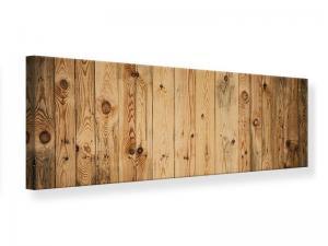 Ljudabsorberande panorama tavla - Walnut Wood - SilentSwede