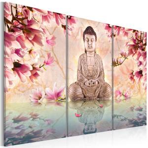 Ljuddämpande tavla - Buddha - meditation - SilentSwede