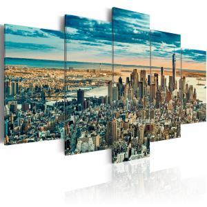 Ljuddämpande tavla - NY: Dream City - SilentSwede
