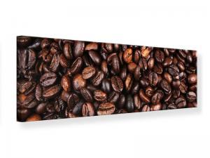 Ljudabsorberande panorama tavla - Coffee Beans In XXL - SilentSwede