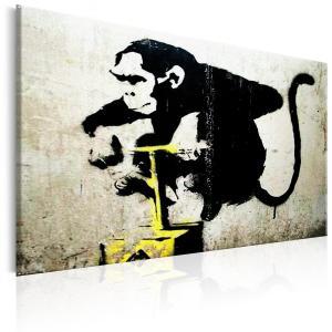 Ljuddämpande tavla - Monkey Detonator by Banksy - SilentSwede