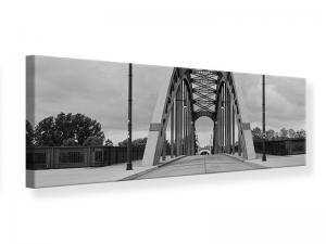 Ljudabsorberande panorama tavla - Poetic Bridge - SilentSwede