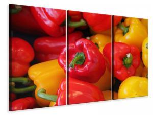 Ljuddämpande tavla - Fresh sweet pepper - SilentSwede