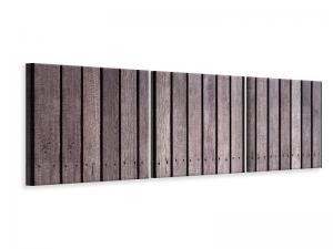 Ljuddämpande tavla - Wood Wall - SilentSwede