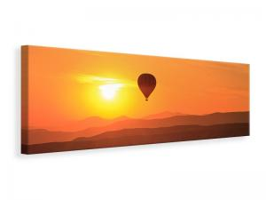 Ljuddämpande tavla - Hot Air Balloon At Sunset - SilentSwede