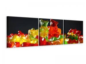 Ljuddämpande tavla - Colorful gummy bears - SilentSwede