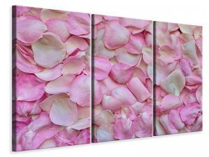 Ljuddämpande tavla - Rose petals in pink II - SilentSwede