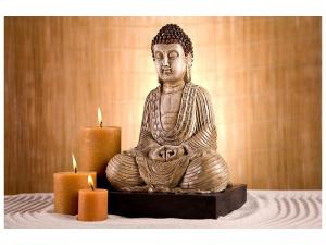 Ljudabsorberande tavla-Buddha In Meditation - SilentSwede