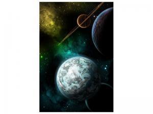 Ljudabsorberande tavla - Space - SilentSwede