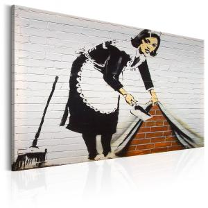 Ljuddämpande & ljudabsorberande tavla - Maid in London by Banksy - SilentSwede
