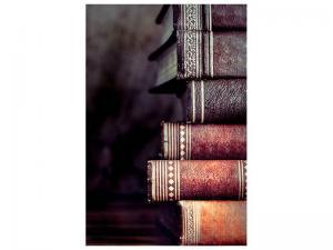 Ljudabsorberande tavla - Antique Book Stack - SilentSwede