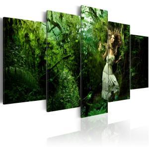 Ljuddämpande tavla - Lost in greenery - SilentSwede