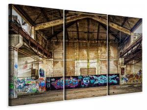 Ljuddämpande tavla - Loft graffiti - SilentSwede