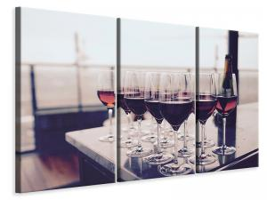 Ljuddämpande tavla - Many wine glasses - SilentSwede