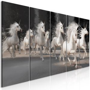 Ljuddämpande tavla - Unicorns Run - SilentSwede