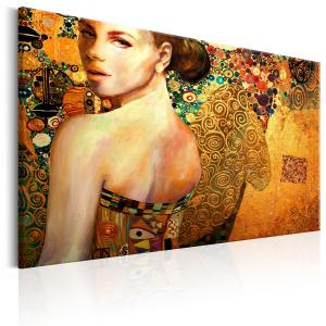 Ljuddämpande tavla - Golden Lady - SilentSwede