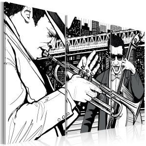 Ljuddämpande tavla - Jazzkonsert - SilentSwede