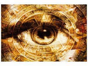 Ljudabsorberande tavla - Fractally eye - SilentSwede