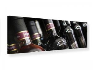 Ljudabsorberande panorama tavla - Bottled Wines - SilentSwede