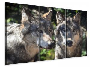 Ljuddämpande tavla - 2 wolves - SilentSwede