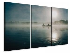 Ljuddämpande tavla - Fisherman in the sunrise - SilentSwede
