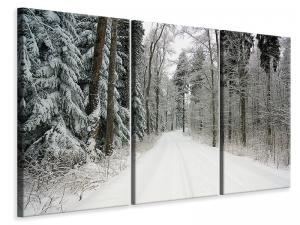 Ljuddämpande tavla - Snow in the forest - SilentSwede