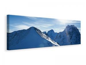 Ljuddämpande tavla - The Mountain In Snow - SilentSwede