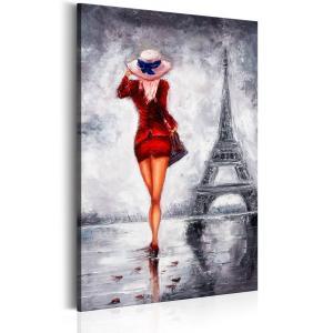 Ljuddämpande tavla - Lady in Paris - SilentSwede