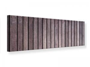 Ljudabsorberande panorama tavla - Wood Wall - SilentSwede