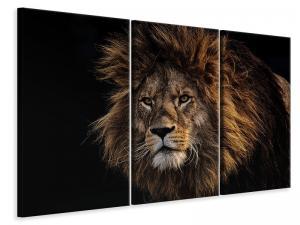 Ljuddämpande tavla - Portrait of a lion - SilentSwede