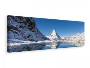 Ljuddämpande tavla - The Riffelsee On Matterhorn - SilentSwede
