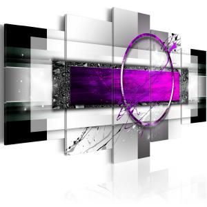 Ljuddämpande tavla - Purple Rim - SilentSwede