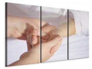Ljuddämpande tavla - Hand massage - SilentSwede