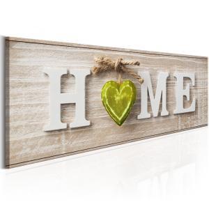 Ljuddämpande tavla - Home: Green - SilentSwede