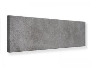 Ljudabsorberande panorama tavla - Concrete In Dark Grey - SilentSwede