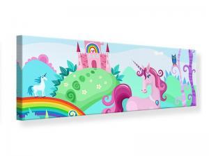 Ljudabsorberande panorama tavla - Princesses Dream - SilentSwede