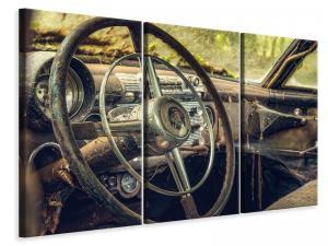 Ljuddämpande tavla - Disintegrated vintage car - SilentSwede
