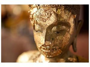 Ljudabsorberande tavla-Head Of A Buddha - SilentSwede
